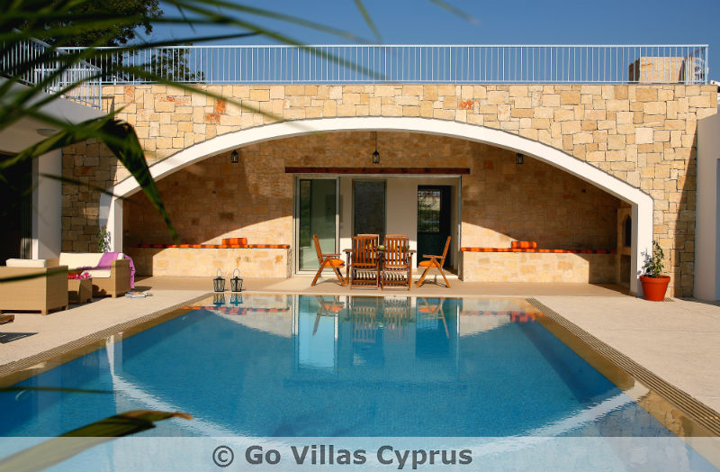 cyprus holiday villa zoe pool