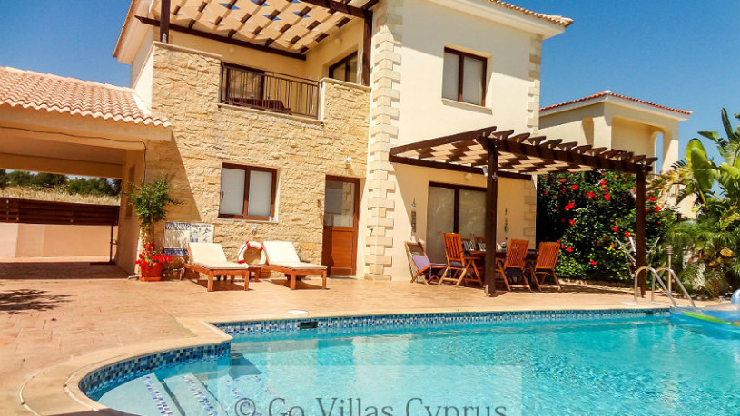 Cyprus Holiday Villa Mediterranean Blue - 2655 - Pool