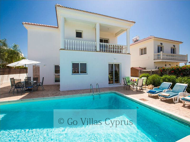 Cyprus Holiday Villa Nissi Beach 1 - 2310 - Pool(3)