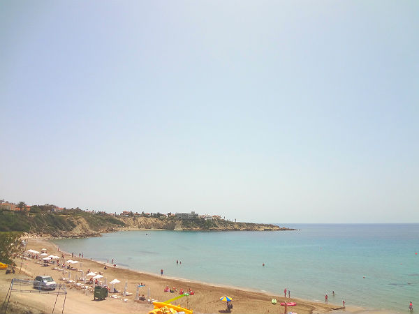 Coral Bay - one of the top 5 beaches in Cyprus