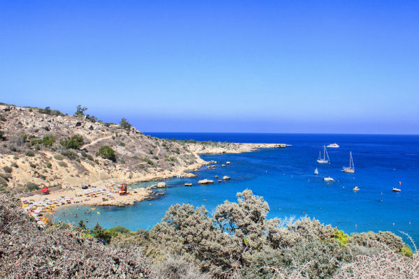 Konnos Bay - one of the top 5 beaches in Cyprus