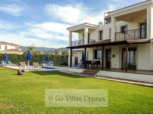 Cyprus Holiday Villa Anthiana Beach